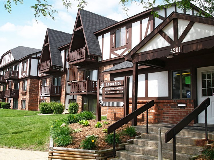 Leasing Office at Brookside Apartments, Michigan, 49037