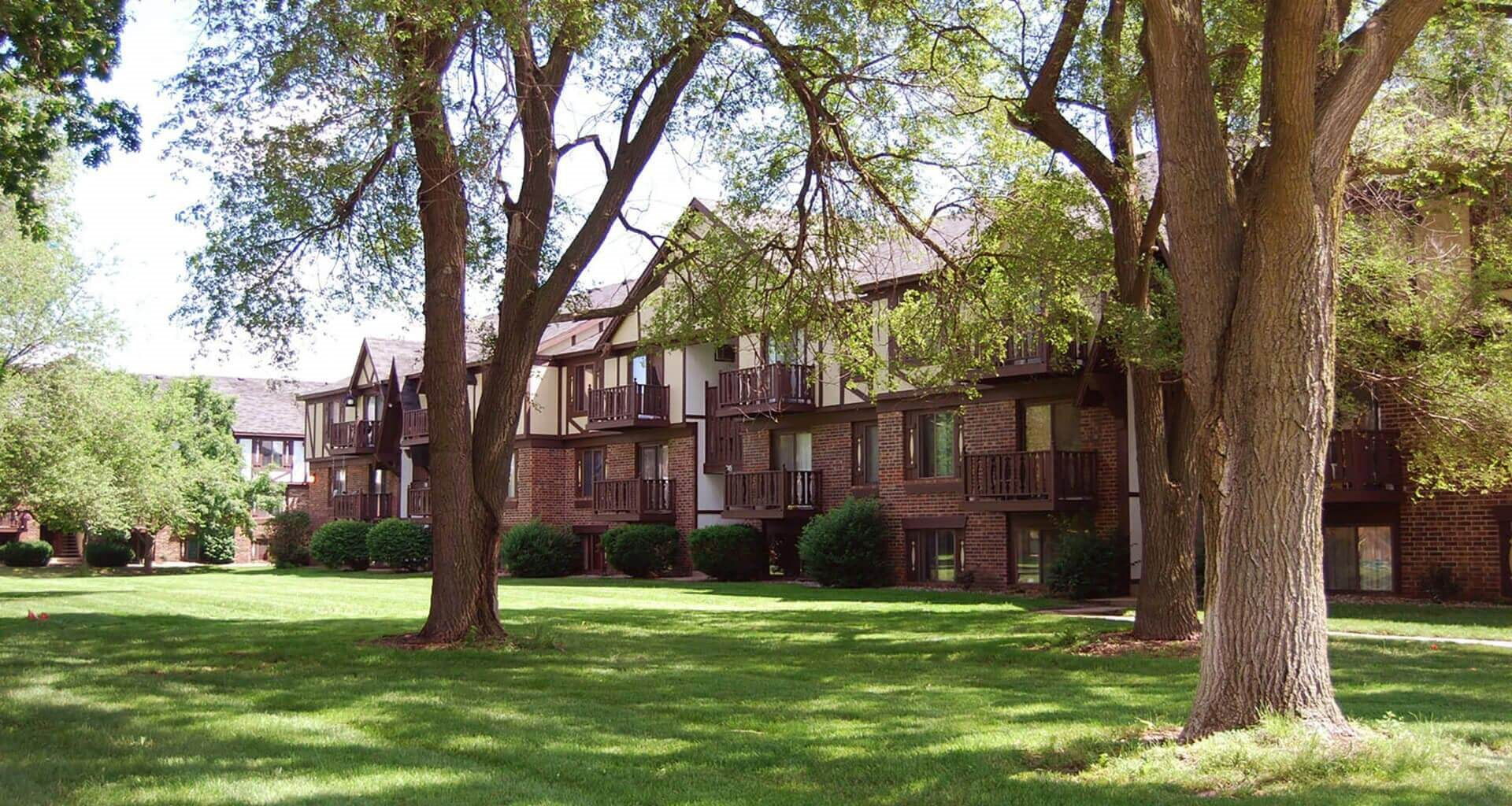 Park-Like Setting at Fairlane Apartments, Michigan