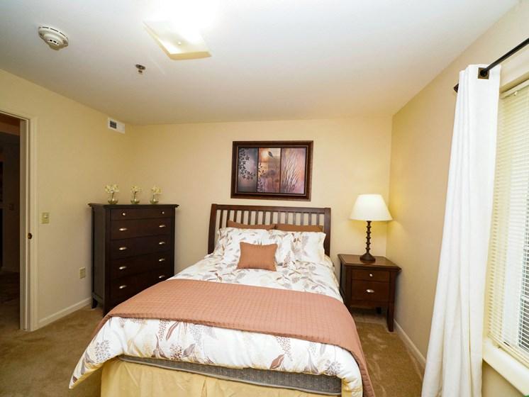 Model Bedroom at Fieldstream Apartment Homes, Ankeny, IA