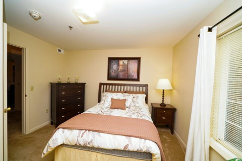 Model Bedroom at Fieldstream Apartment Homes, Ankeny, IA
