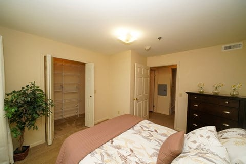 Bedroom with Large Closet at Fieldstream Apartment Homes, Ankeny, Iowa