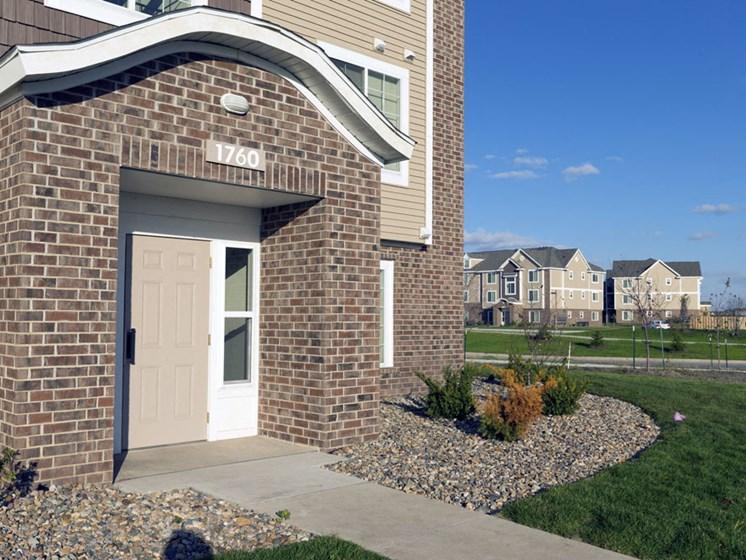 Entry Way To Home at Fieldstream Apartment Homes, Ankeny, Iowa