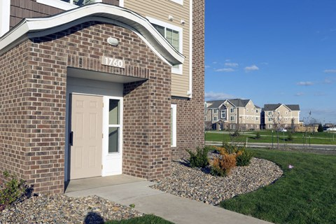 Entry Way To Home at Fieldstream Apartment Homes, Ankeny, Iowa