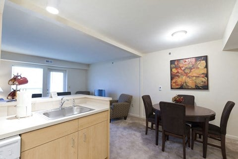 Eat In Kitchen Design at Fieldstream Apartment Homes, Iowa