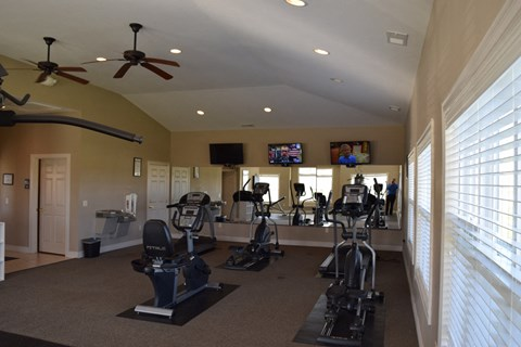 Cardio Equipment at Fieldstream Apartment Homes, Ankeny, IA, 50023