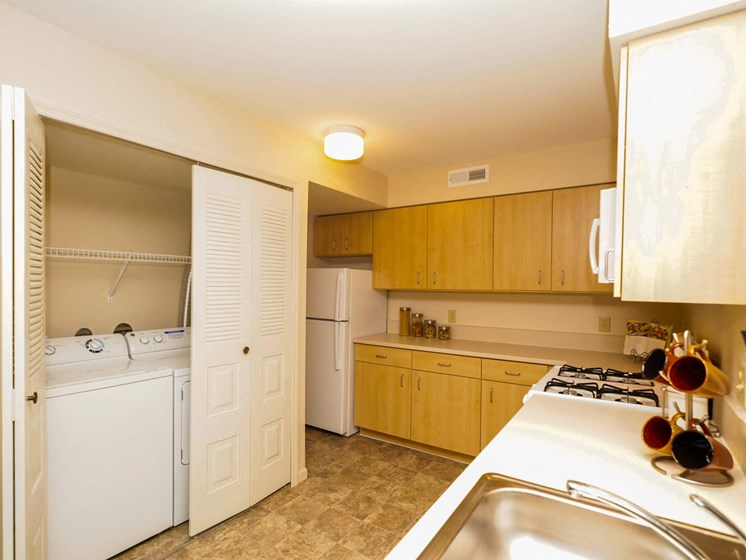 In-Unit Washer and Dryer at Fieldstream Apartment Homes, Iowa
