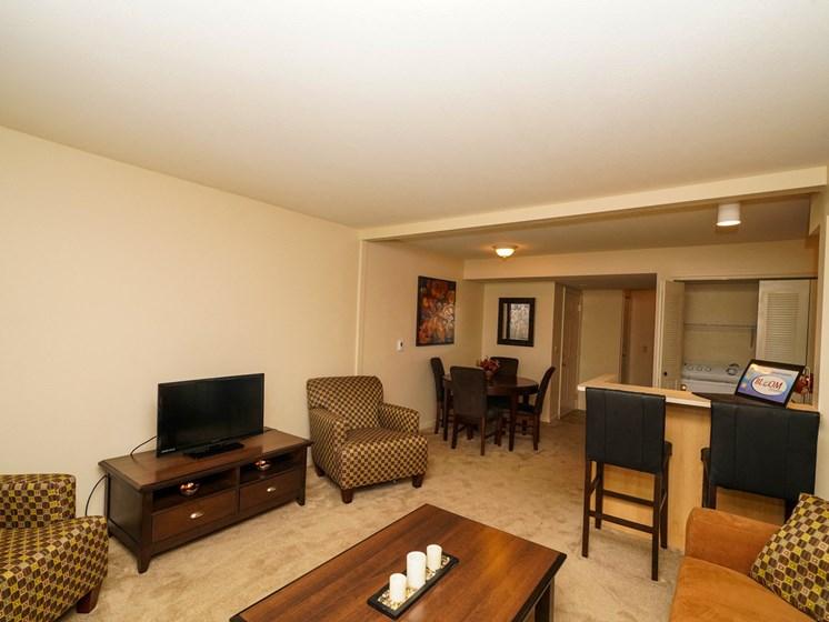 Open Floor Layouts at Fieldstream Apartment Homes, Ankeny, IA, 50023