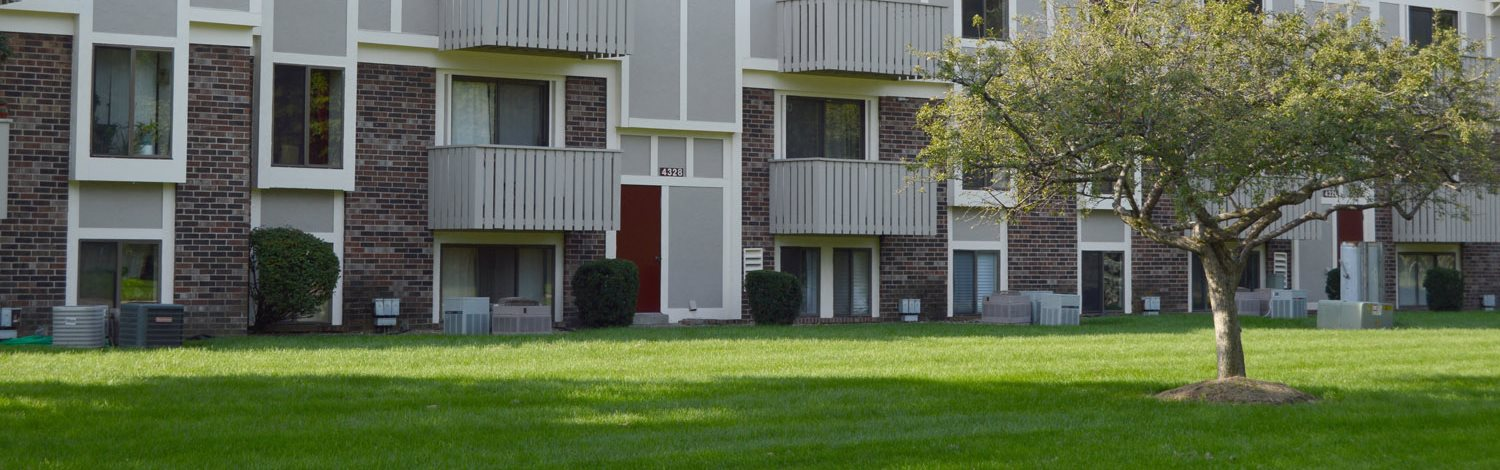 Building Exterior at Hickory Village Apartments, Indiana