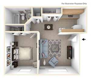 Standard One Bedroom