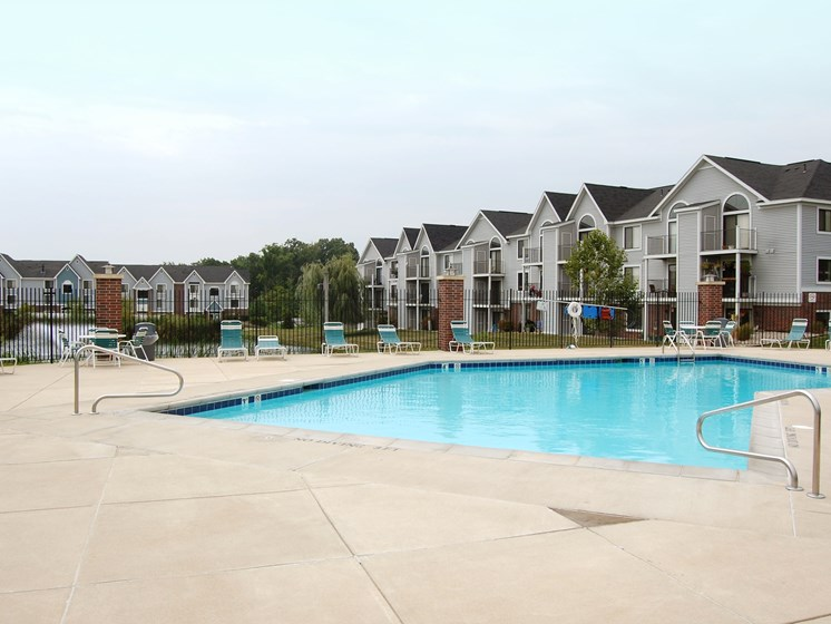 Relaxing Swimming Pool at Liberty Mills Apartments, Fort Wayne, IN, 46804