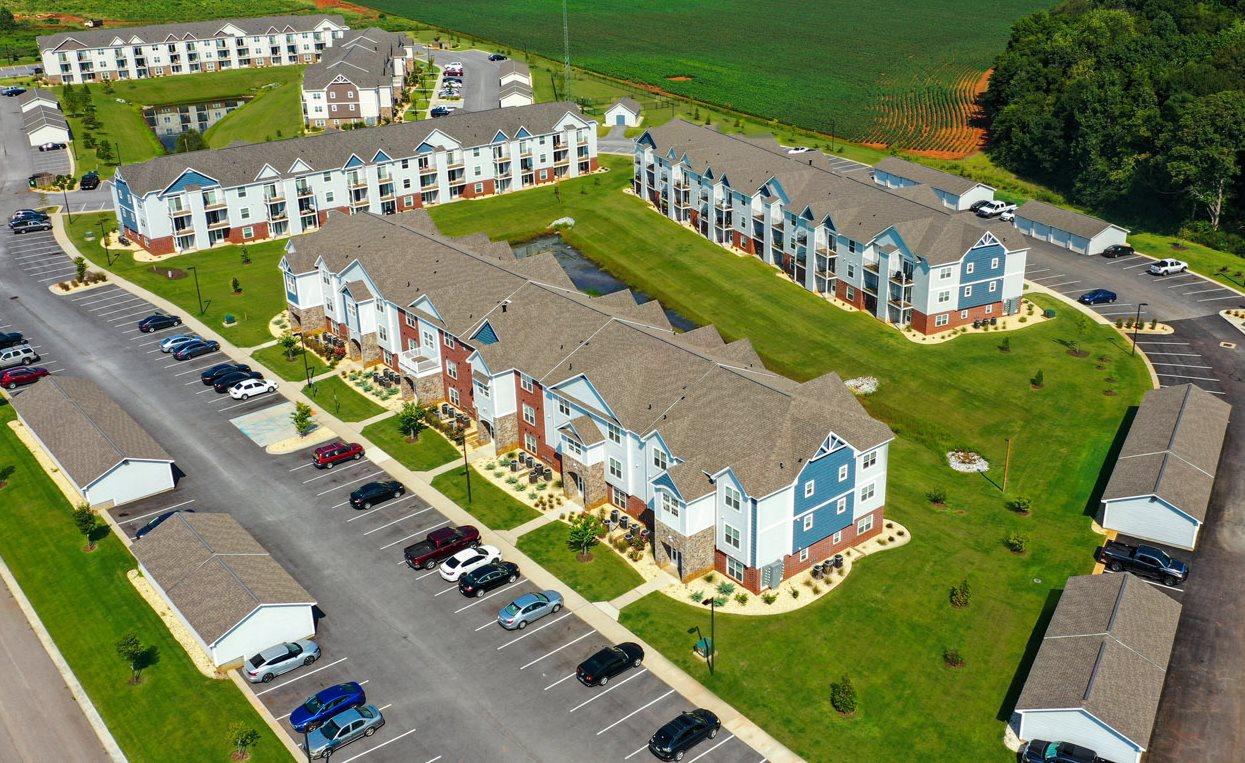 Parking Lot at Limestone Creek Apartment Homes, Madison, AL