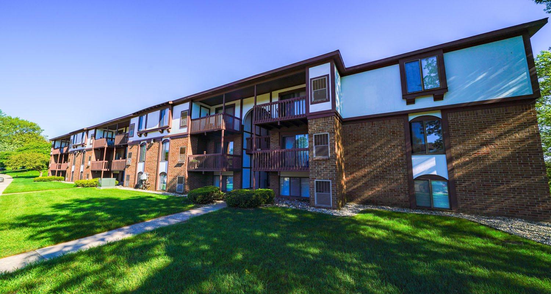 Green, Shady Views at Seville Apartments, Kalamazoo, Michigan