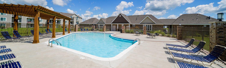Centrally Located Community at Stoney Pointe Apartment Homes, Wichita, Kansas