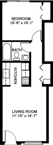 One Bedroom Style A