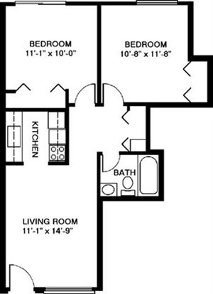 Two Bedroom Style D