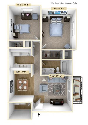 Two Bedroom Mulberry