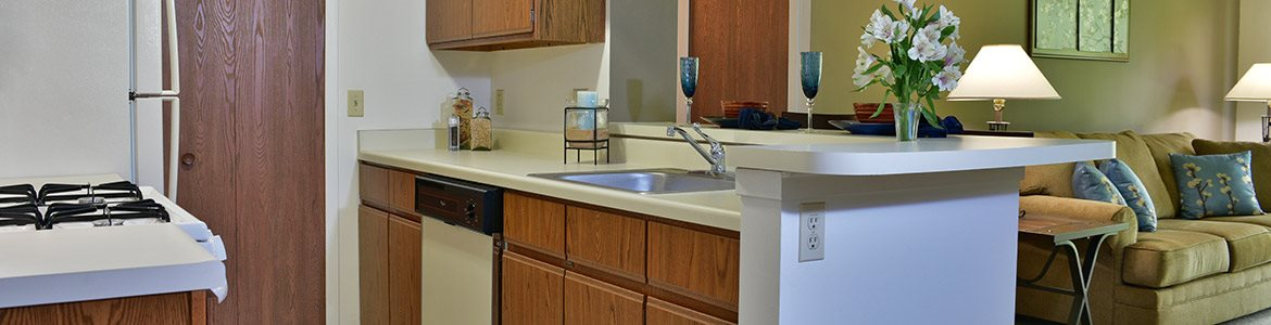 Kitchens Fully Equipped Including Dishwasher at Beacon Hill Apartments, Rockford