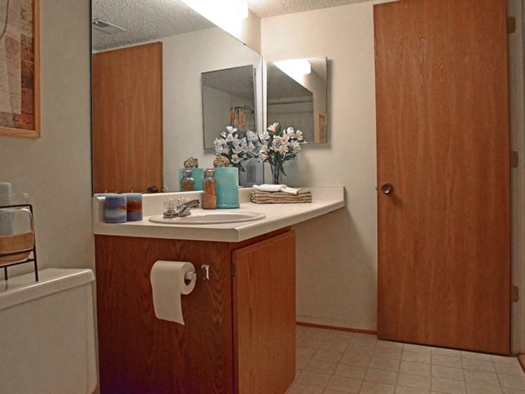 Bathroom at Beacon Hill Apartments, Rockford, Illinois
