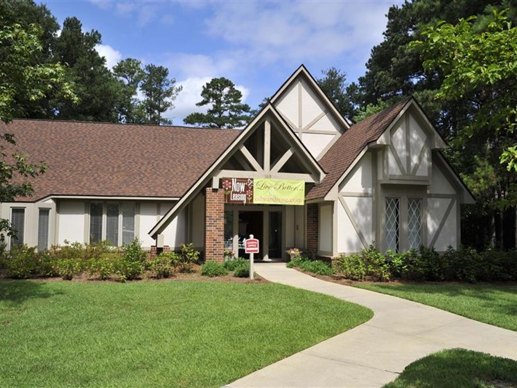 Leasing Office Exterior at Brook Pines, South Carolina