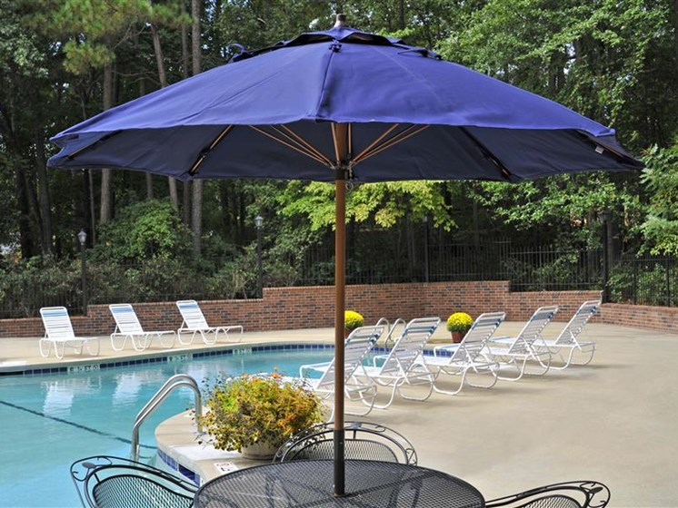 Poolside Lounge Area at Brook Pines, South Carolina, 29210