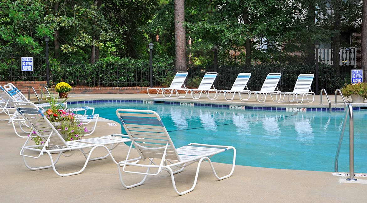 Outdoor Swimming Pool with Expansive Sundeck at Brook Pines, South Carolina, 29210