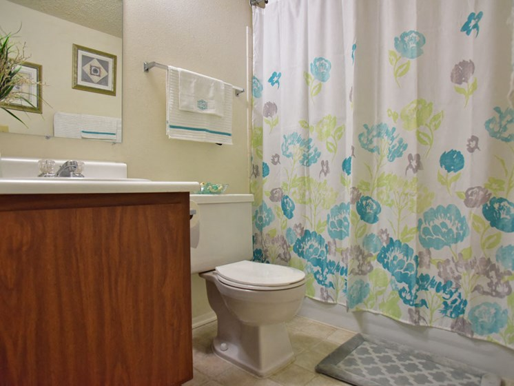 Full Bathroom with Tub at Great Oaks Apartments, Illinois