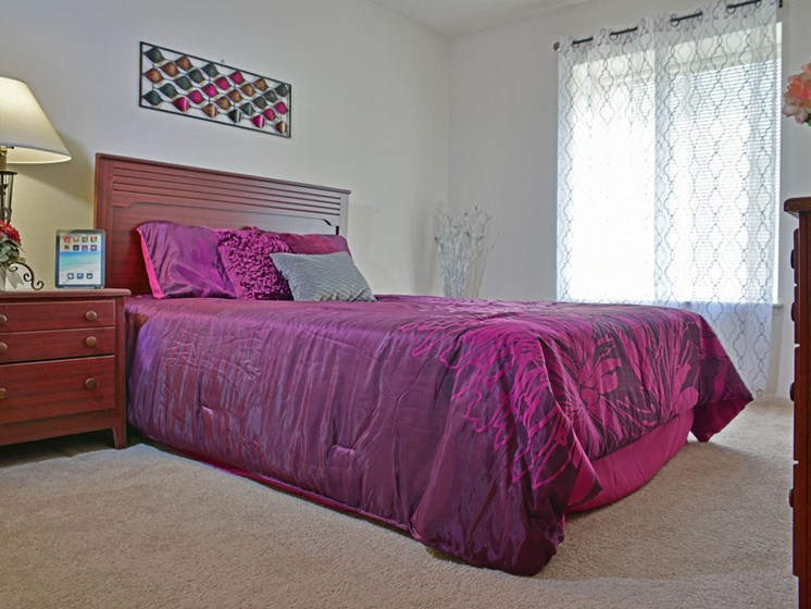 Spacious Bedroom at Great Oaks Apartments, Rockford, 61109