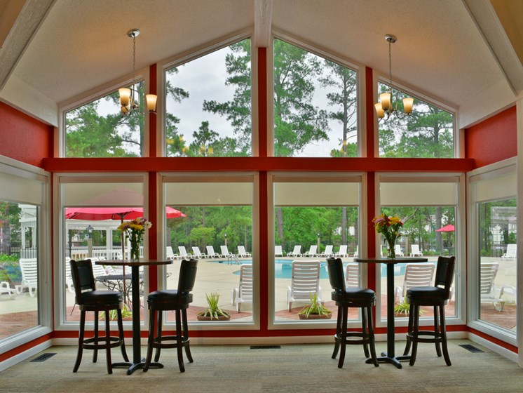 Interior Clubhouse at Lake in the Pines, Fayetteville, NC