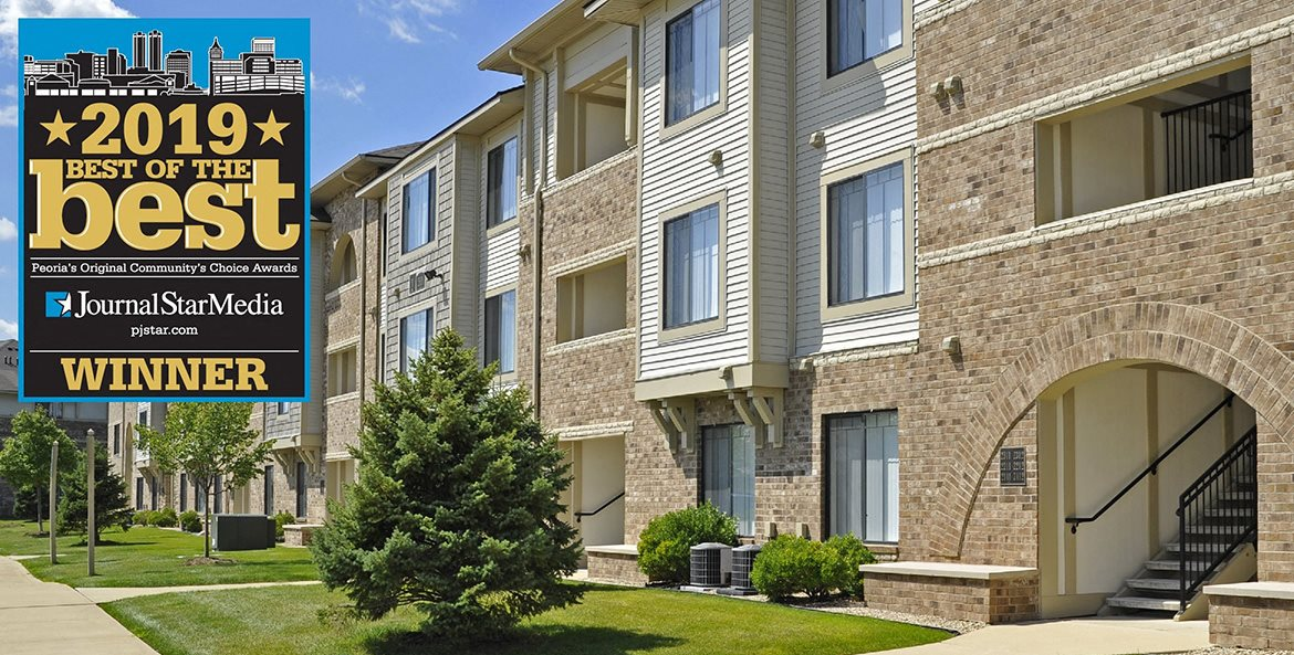 Award Winning Community at Prairie Lakes Apartments, Peoria, IL 61615