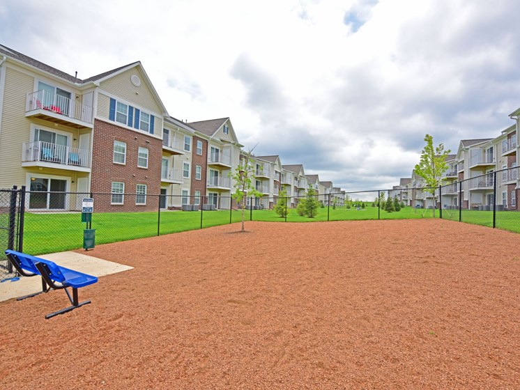 Dog Park at River Hills Apartments, Fond du Lac, Wisconsin 54937