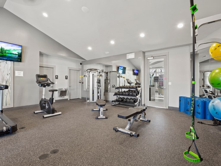 Resident-Exclusive Fitness Center