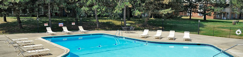 Refreshing Pool at Sycamore Creek Apartments, Orion, MI, 48359