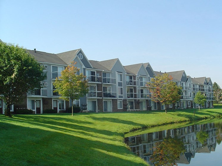 Acres of Green Lawns at The Landings, Westland, Michigan