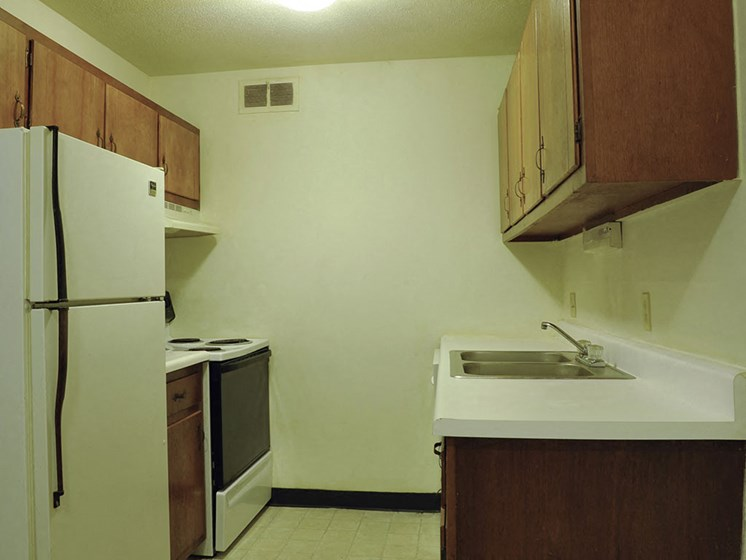 Kitchen at Timberbrook Apartments, Peoria