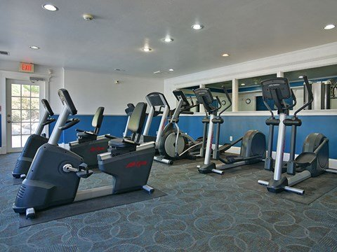 Gym at Timberlane Apartments, Peoria, IL