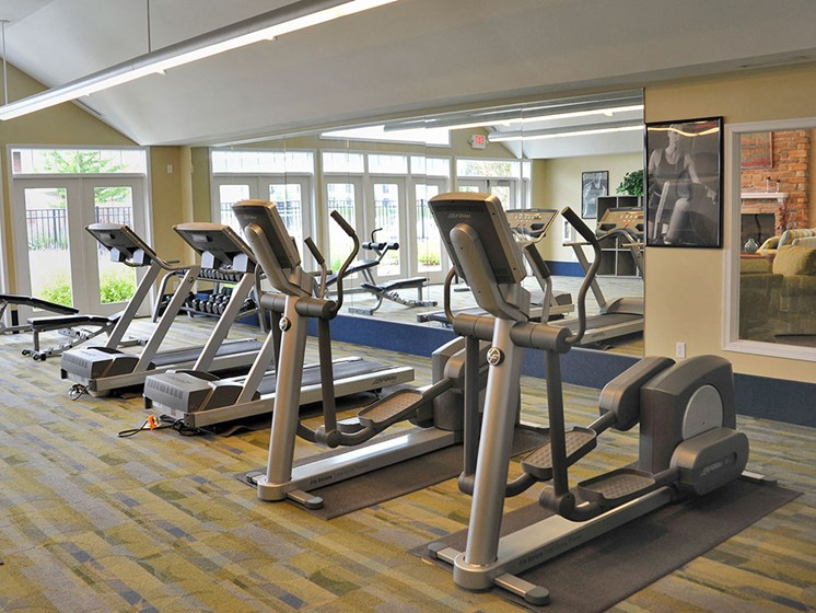 Fitness Center at Towne Lakes Apartments, Grand Chute