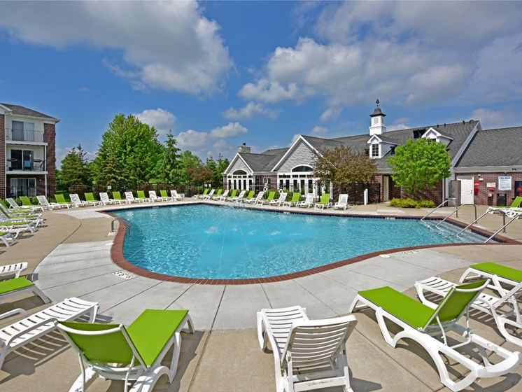 Swimming Pool at Towne Lakes Apartments, Grand Chute, WI 54913