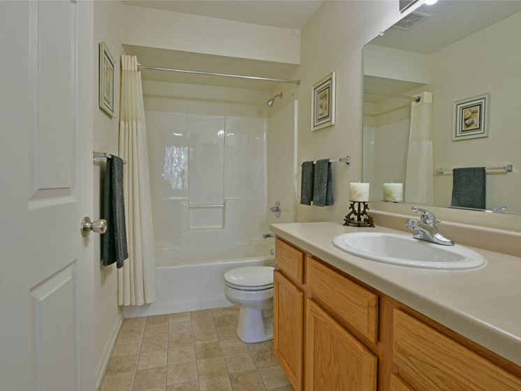 Bathroom at Towne Lakes Apartments, Grand Chute