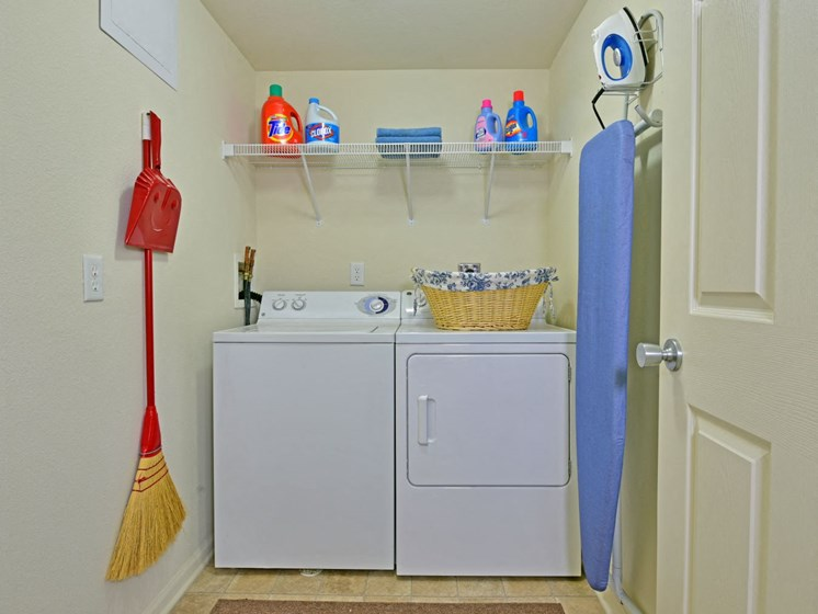 Full-Size Washer & Dryer at Towne Lakes Apartments, Grand Chute, Wisconsin