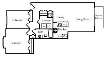 Studio Apartment Floor Plans 480 Sq Ft open floor plan studio apartment. open. home plan and house design