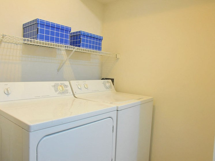 In-Unit Washer and Dryer at Westlake Apartments, Belleville, 48111