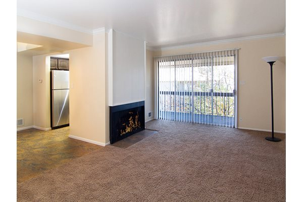 Image of our in-unit fireplaces in Salt Lake City, UT
