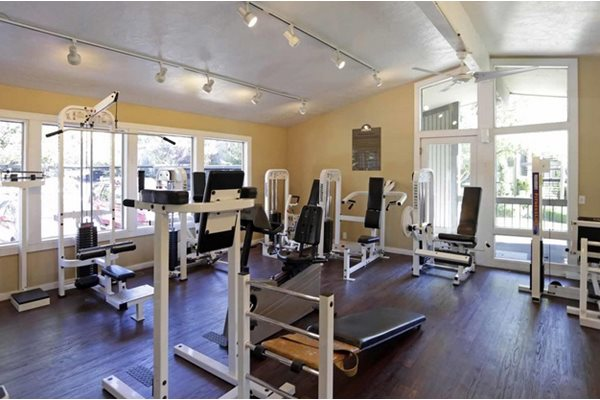 Image of our fitness center at apartments located near me