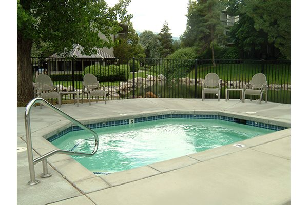 Image of our year round spa/hot tub