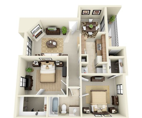 Find home at the remington apartments 1 2 bedrooms available suite a floorplan malvernweather Choice Image