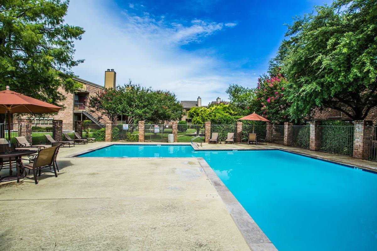 Seasonal Swimming Pool at Apartments Near Me in Killeen TX