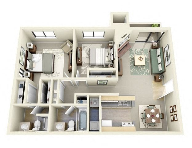 Suite A Floorplan. Floor PlanThe Overlook ...