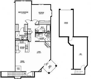 OC - 2 Bed, 2 Bath + Den w/ 1 Car Garage - Upper Exterior