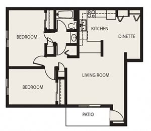PS - 2 Bed, 1 Bath Lower (Phase 3)