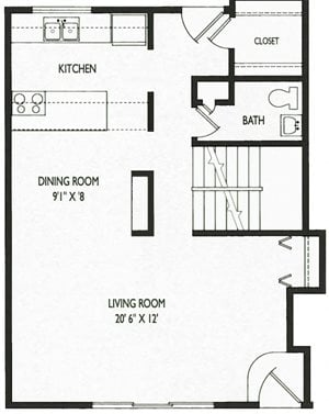 WGR 3 Bedroom Townhome